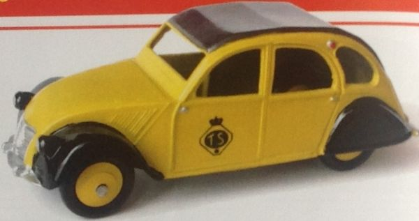 CLUB DINKY FRANCE MODEL No. CDF53 2CV TOURING SECOURS